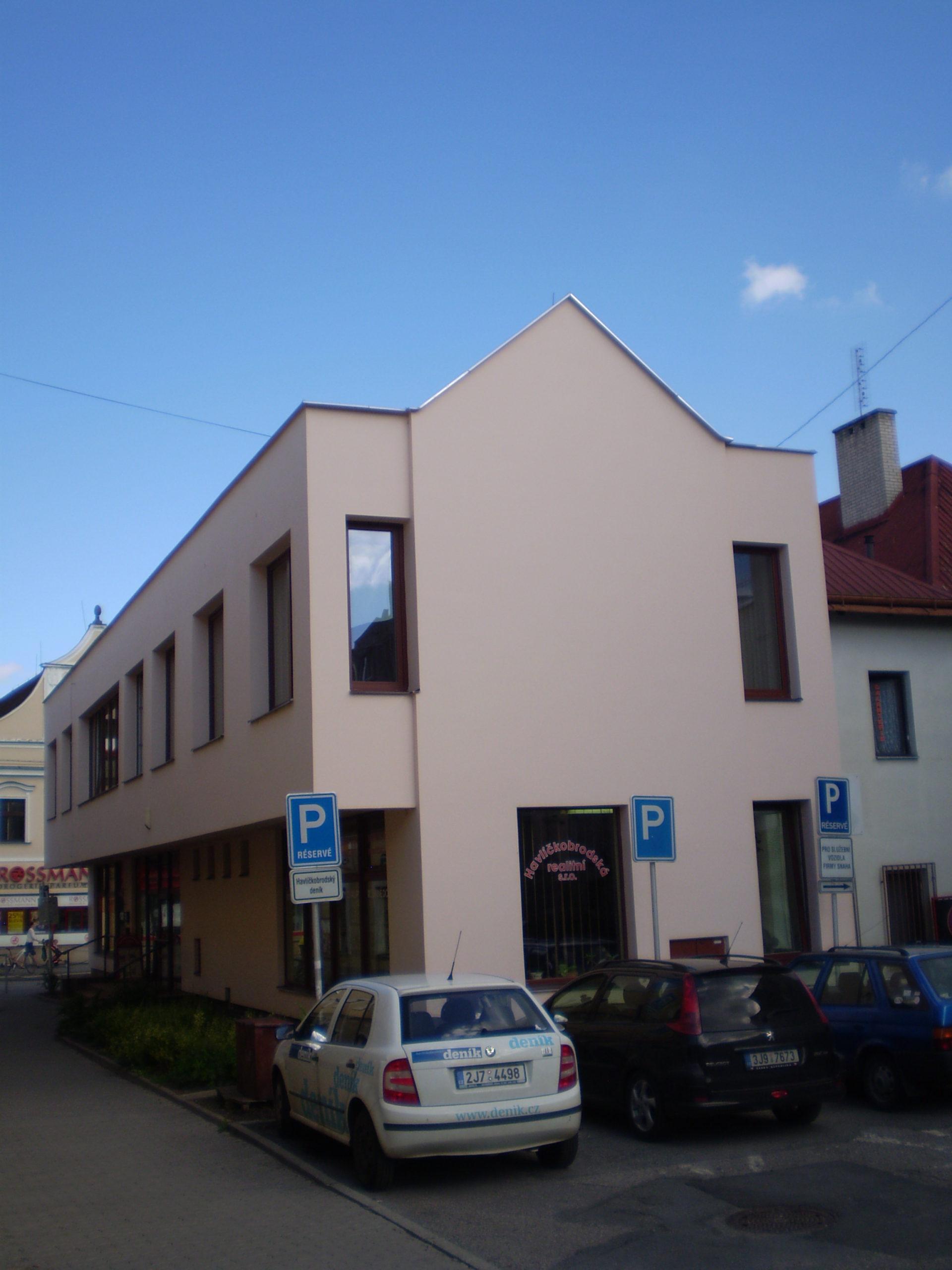 Kancelářské a podnikatelské prostory v Havlíčkově Brodě, Dolní ul.