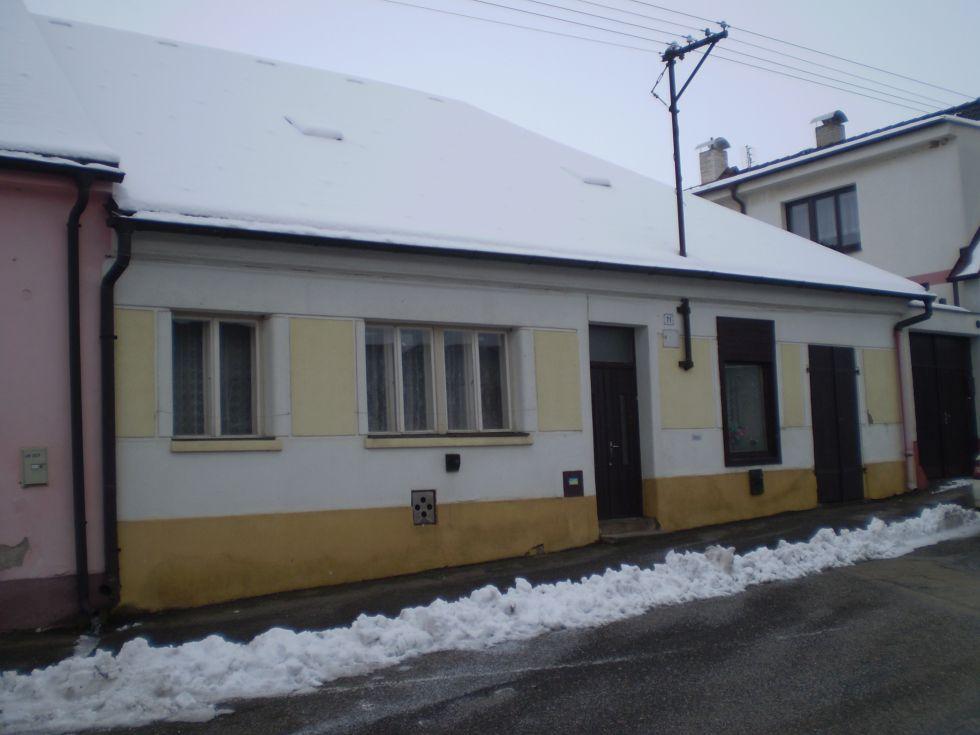 Rodinný dům v Habrech